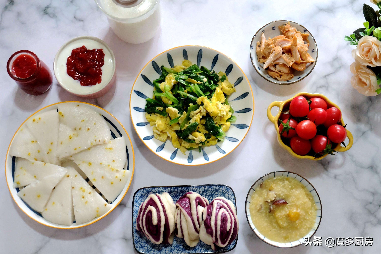 儿童一周食谱:一周7天,每天早餐不重样