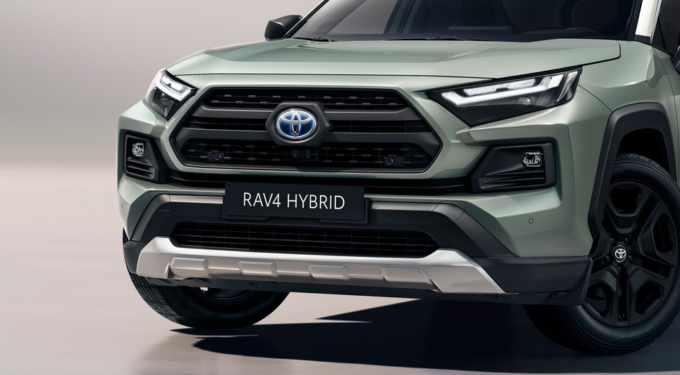 大灯科技感提升,新款丰田RAV4越野版官图发布