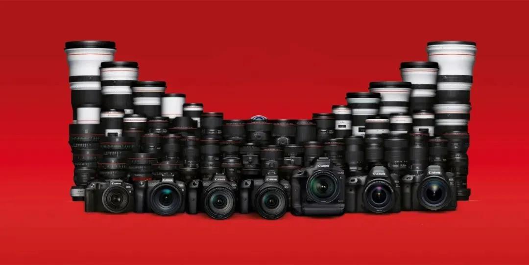 佳能所有产品集合,买相机不用愁