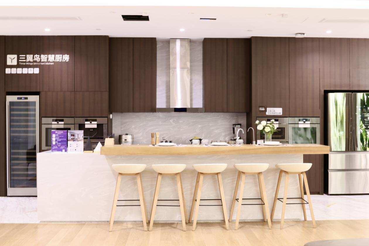 《【聚星公司】三翼鸟上海体验中心001上半年破亿:非家电类销售超5成》