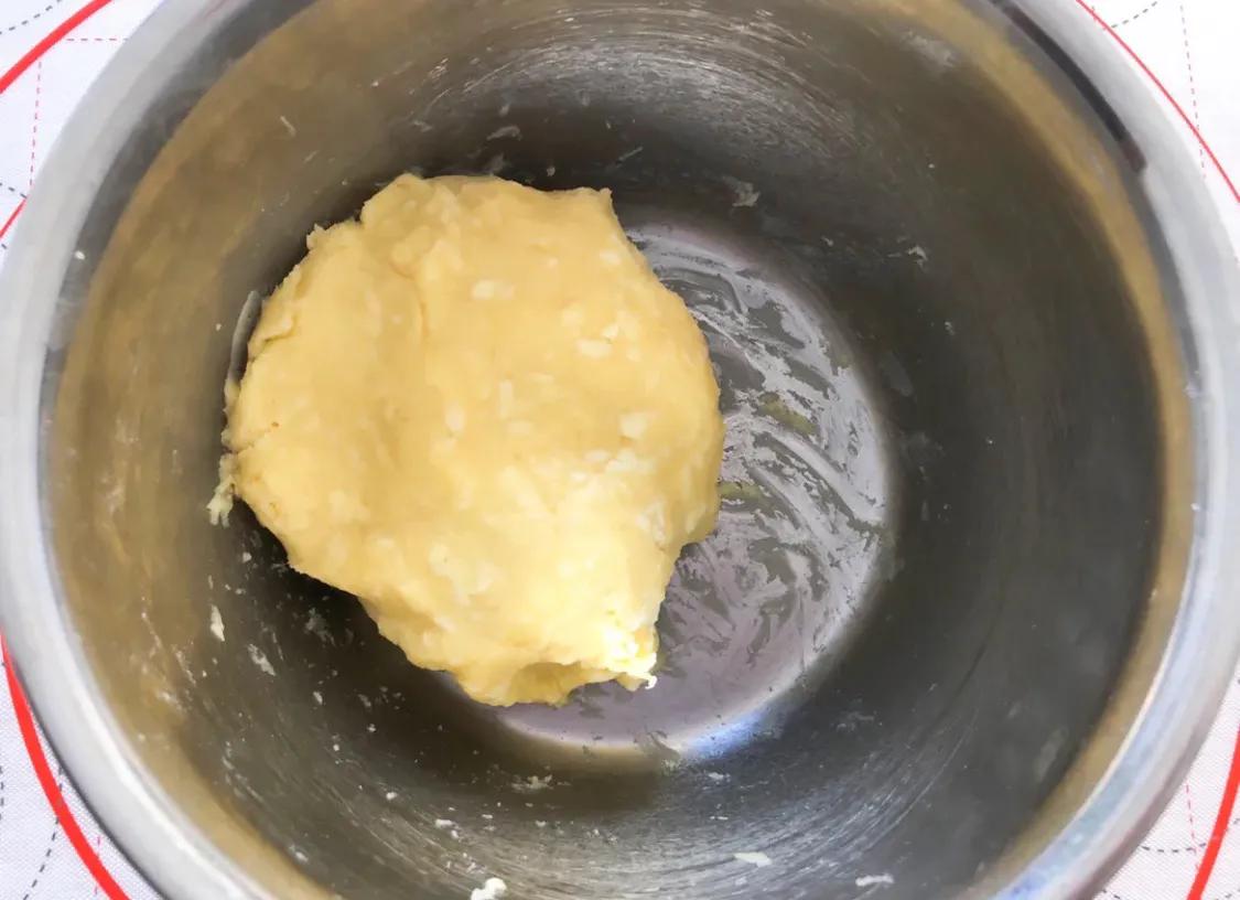 超简单,免打发的黄金芝士咸味饼干 美食做法 第8张
