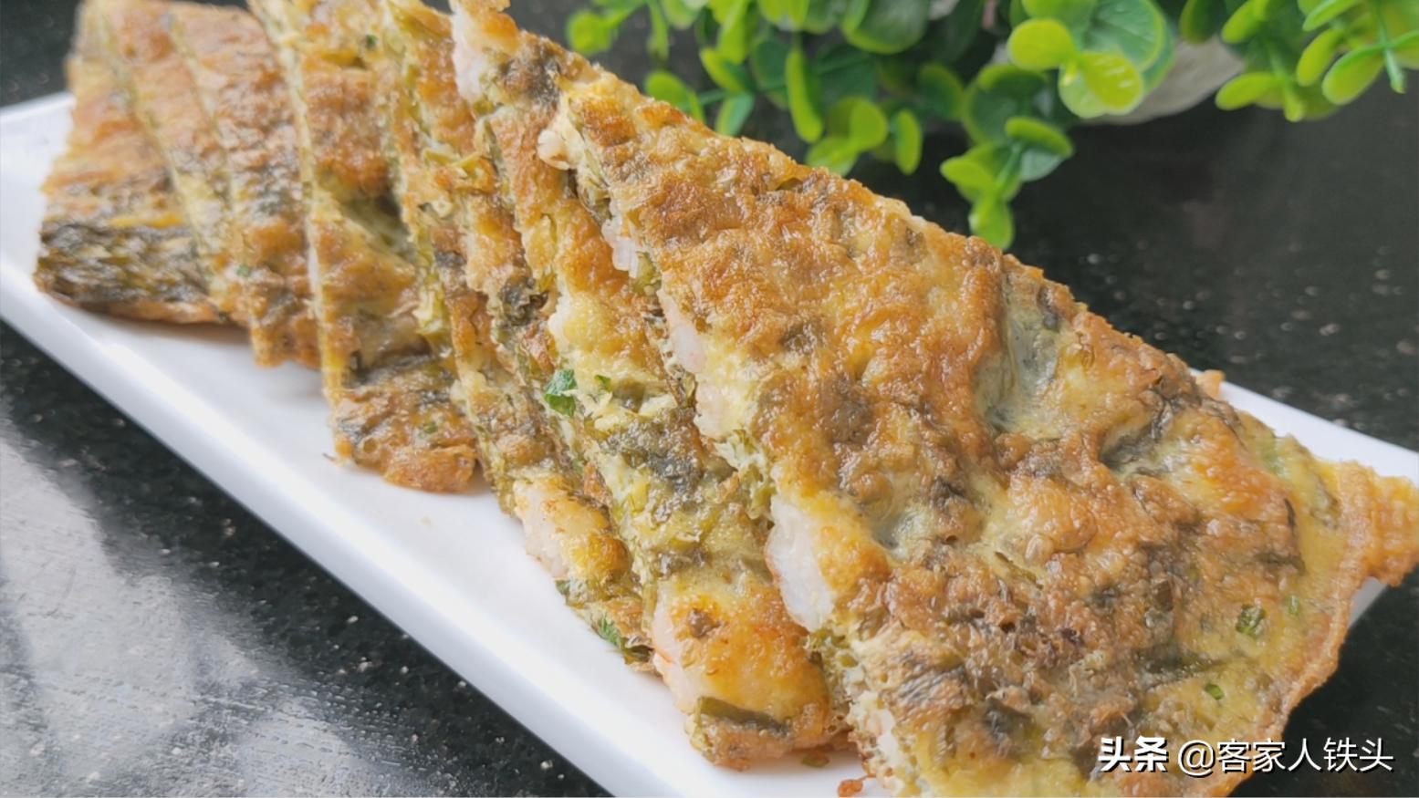 鲜虾别只会白灼,加5个蛋做一盘,口感酥嫩好吃,咬上一口满嘴香