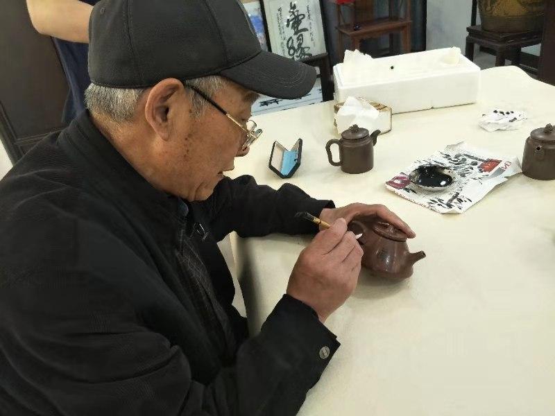 访徐州槐香斋书画院顾问韩兰成老师