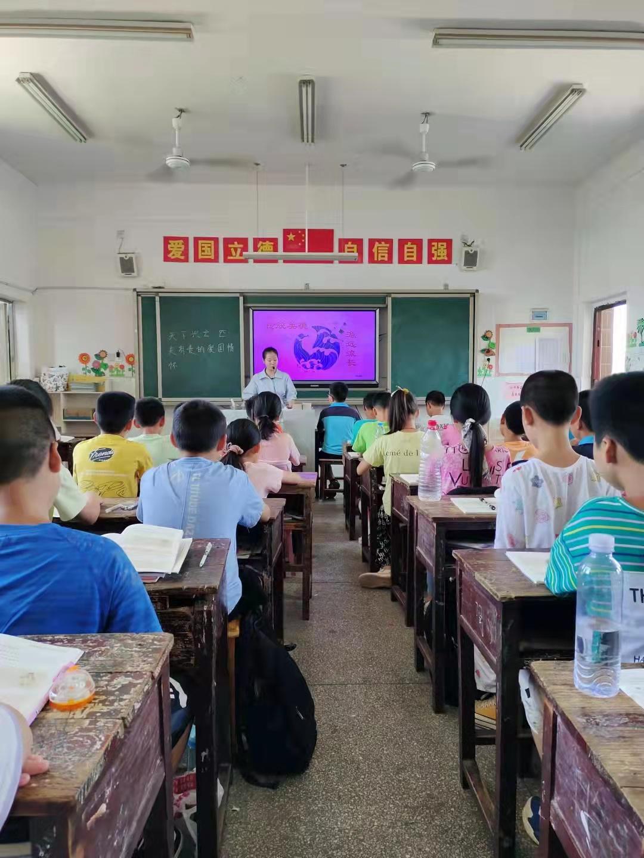 """隆回县荷香桥镇中心校举行教学""""比武""""活动"""