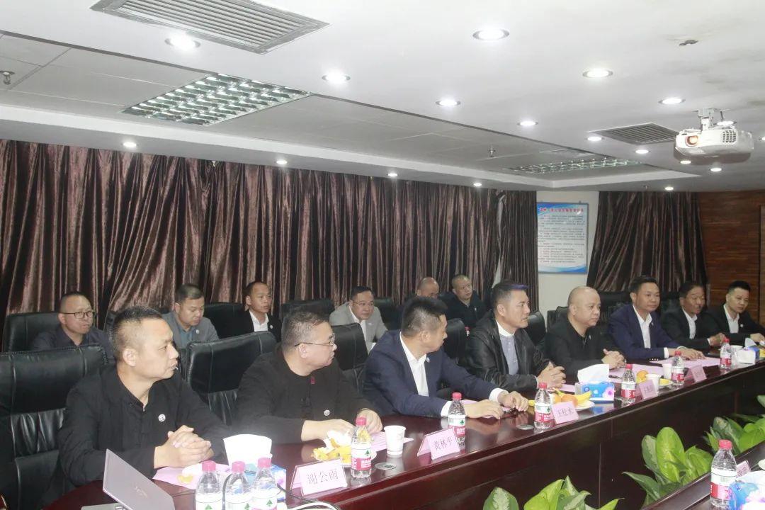 携手推动湾区温商共融发展—广州温州商会代表团一行到访我会
