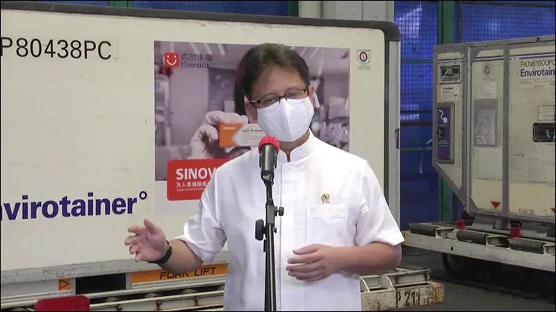 国际日报 中国疫苗再抵印尼卫生部长称国际抢购现象加剧呼吁珍惜