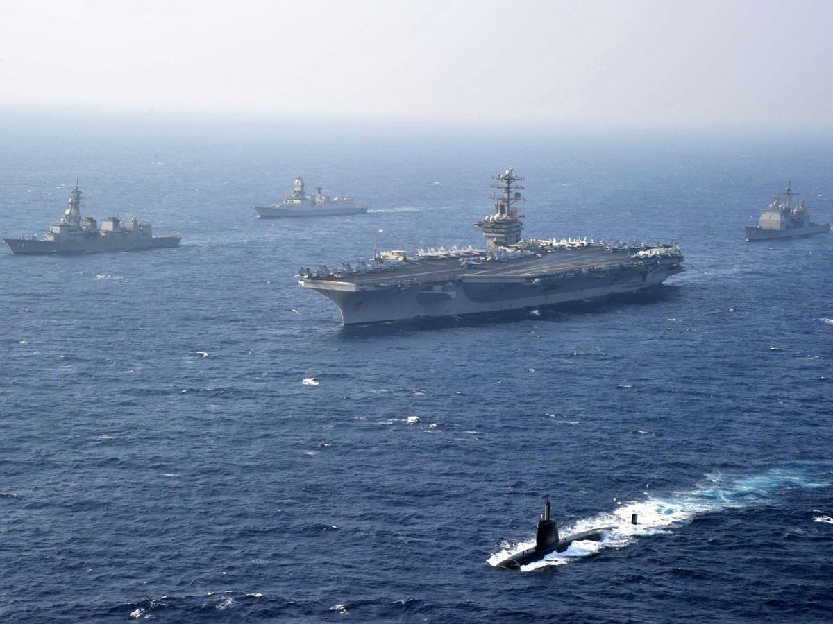 冷战思维不死心,美国设立太平洋海军特遣队,头号目标锁定中国