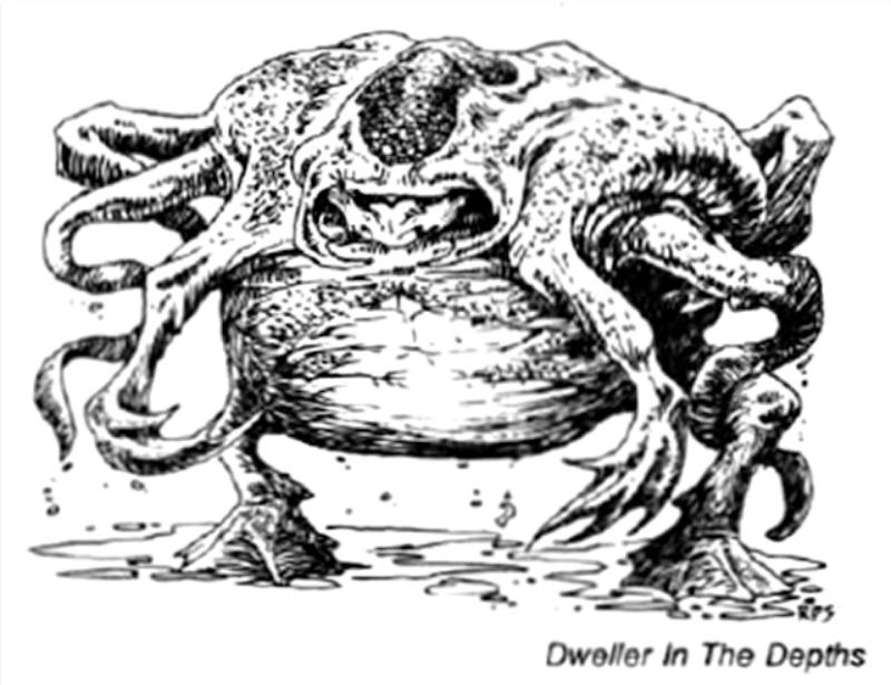 克苏鲁神话生物——深渊之民