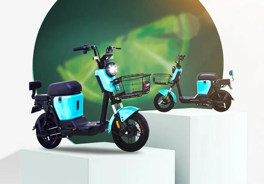 爱玛、比德文发布新车,外观简约骑行舒适,大城市可以轻松上牌