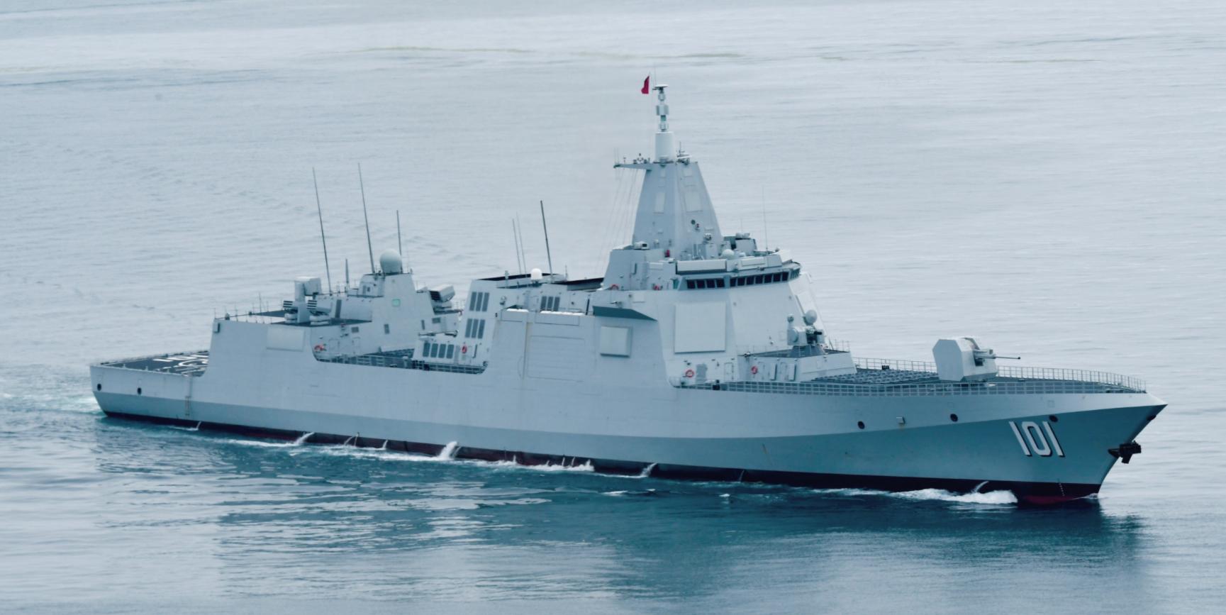 2020年,中国下水了23艘新舰,吨位相当于整个澳大利亚海军