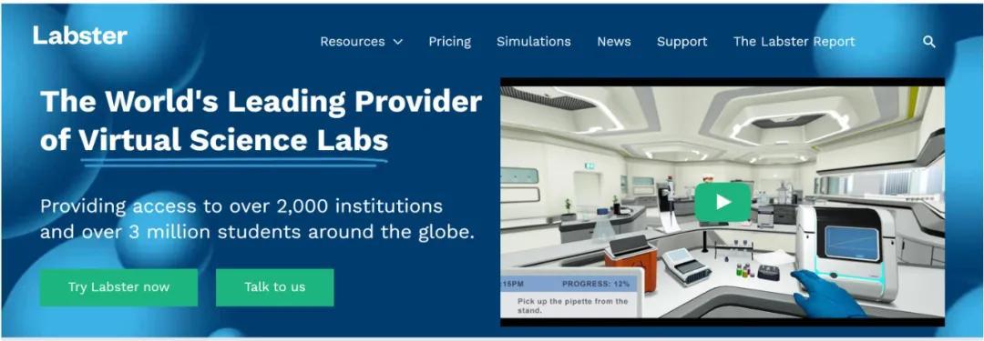 将虚拟现实引入STEM教育,Labster获得了6000万美元的资助