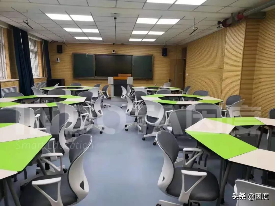 灵活多样布局,适合多种教学---2021年因度高校案例