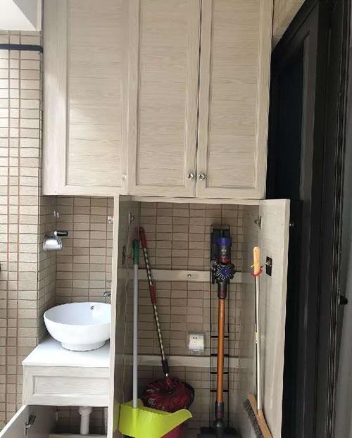房子装修,给拖把和扫帚留个柜子,整齐漂亮又遮丑,用起来方便