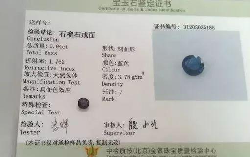 石榴石居然有这么多颜色?