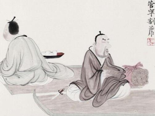 我国名人趣事:管宁割席断交、苏轼巧对佛印、张大千靠帖回家