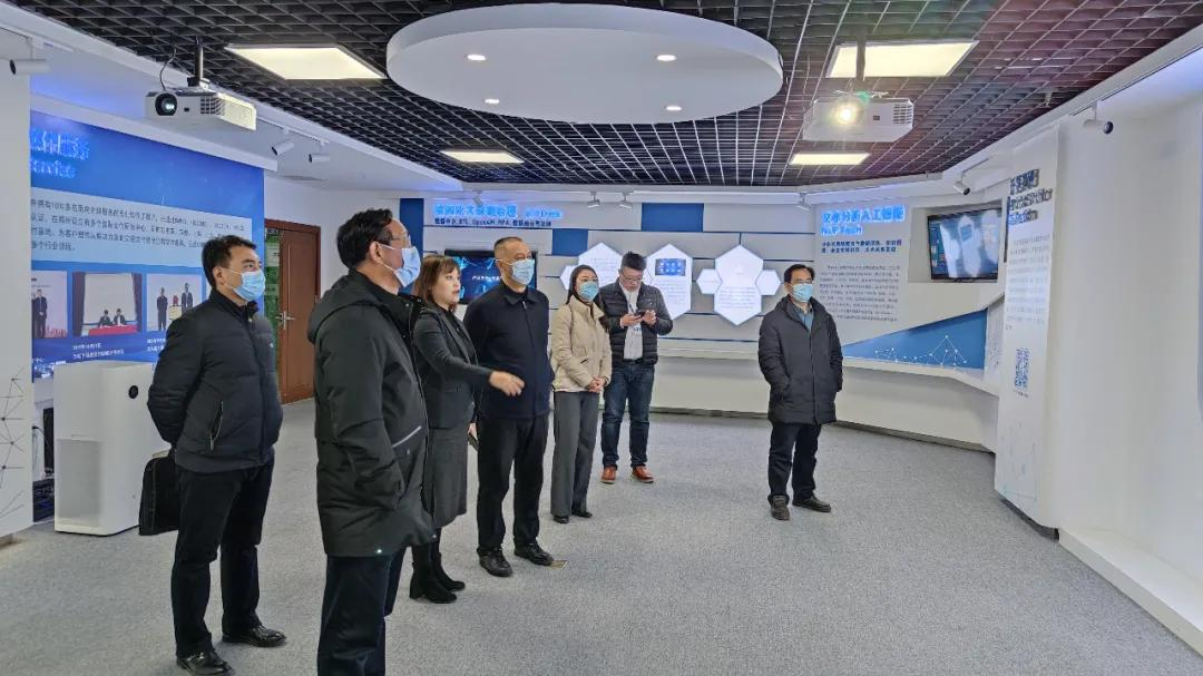 同创共赢丨河南机电职业学院领导专家莅临八六三软件参观洽谈