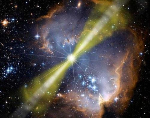 伽马射线暴是什么?地球会被伽马射线暴的超高能量完全蒸发掉吗?
