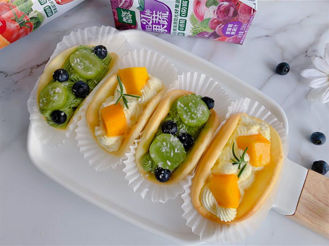 水果冰乳酪抱抱卷做法步骤图 口感细腻嫩滑