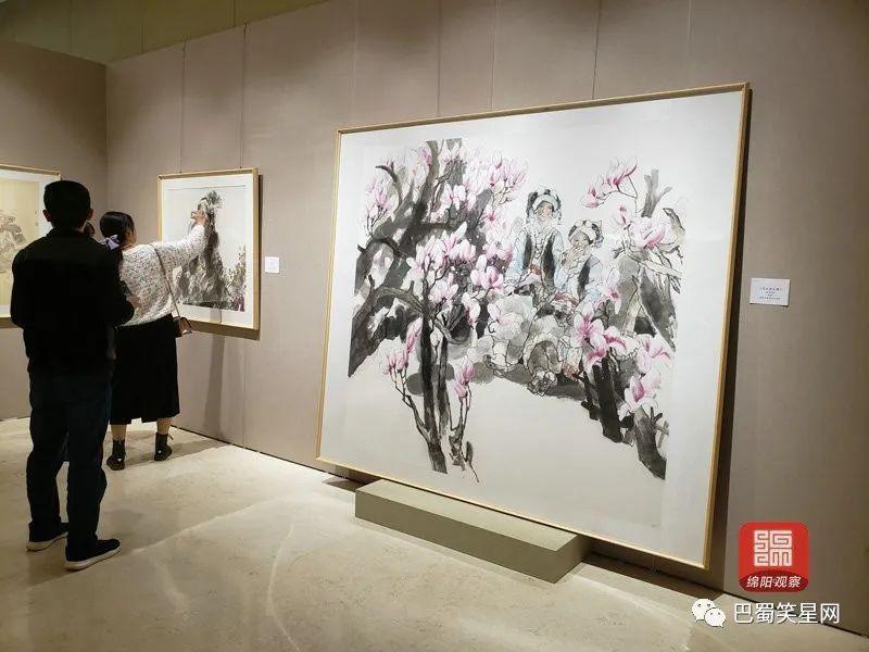 巴蜀文化知多少?这些优秀国画作品描绘出了精髓,快来看展