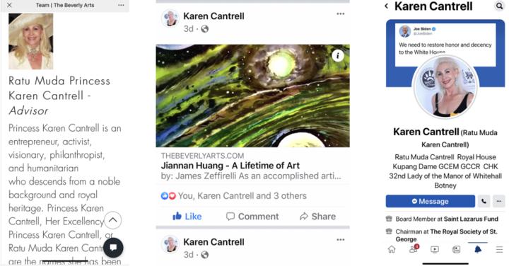 英国凯伦公主热转比佛利艺术网评论文章《黄建南—艺术人生》