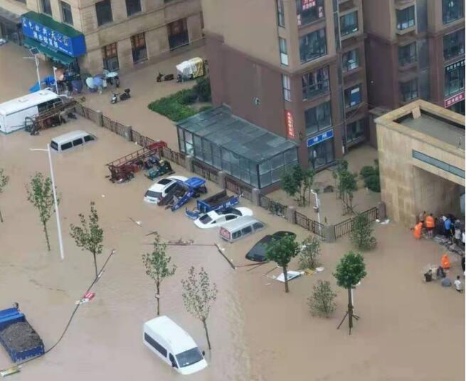 郑州市白沙镇白坟幸福家园:抗灾自救保家园