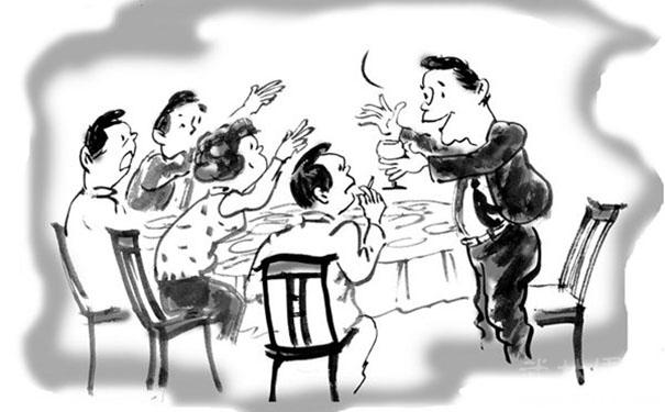 酒餐桌最让人反感的8种人,碰到后摔木筷就走!你毫无疑虑碰到过