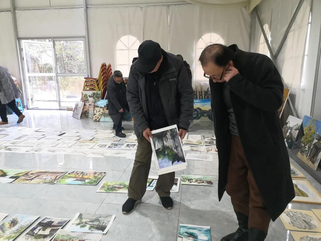 """水墨江南""""中国无锡2020年大学生写生旅游节""""获奖作品"""