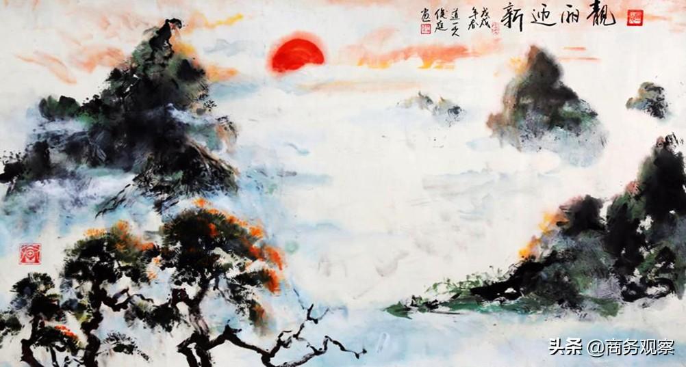 《时代复兴 沧桑百年》全国优秀艺术名家作品展——张俊庭