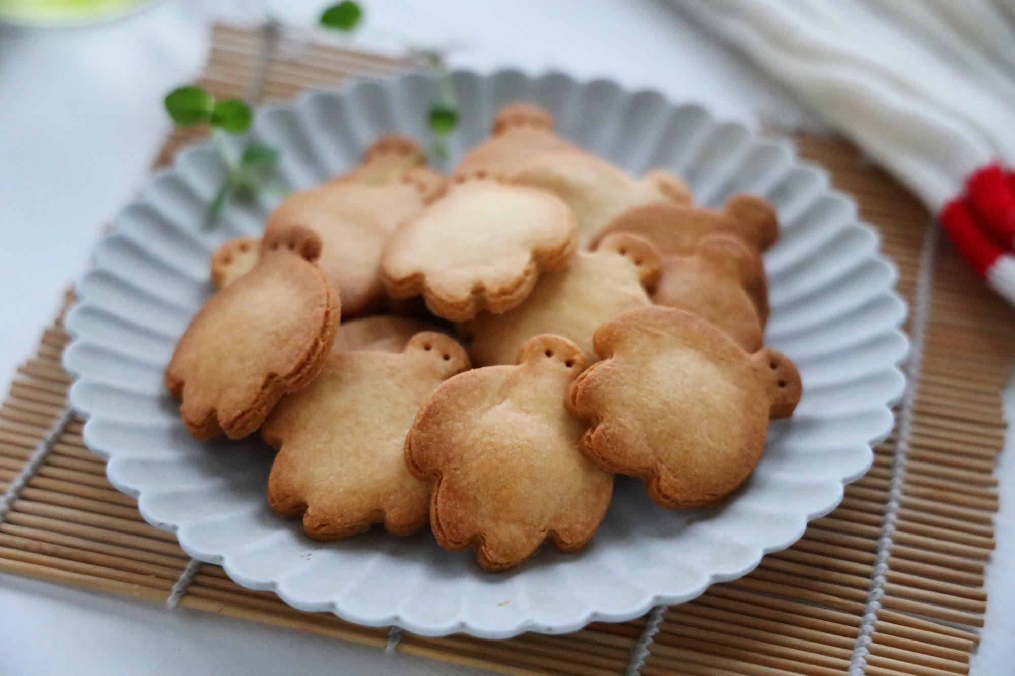 国庆在家,跟孩子DIY手工饼干,香甜酥脆,配料少,简单无难度