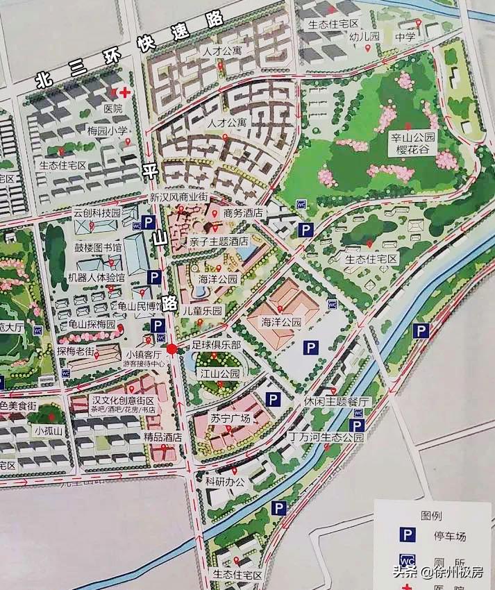 城北板块规划图曝光!还有公园规划,如何抄底选好盘?