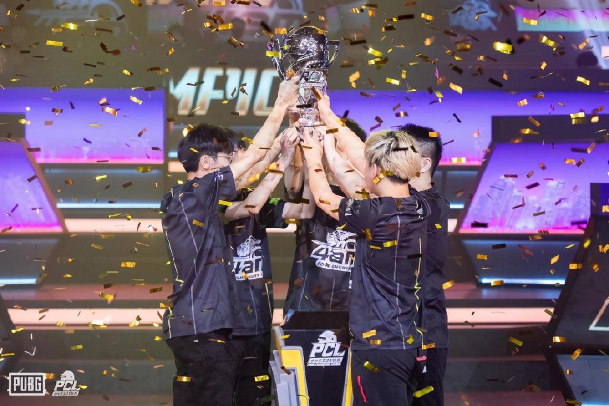 绝地求生PCL:4AM夺冠创造历史,韦神赛后采访再出豪言