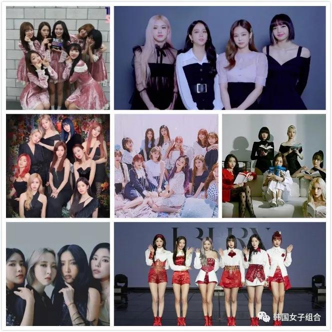 2021年1月韩团组合品牌榜单,女团位据上位圈