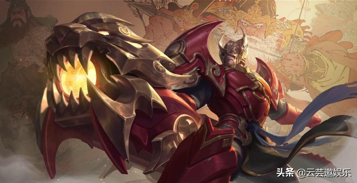 王者荣耀:英雄黄忠技能玩法发全解析,老将不死,只会逐渐凋零