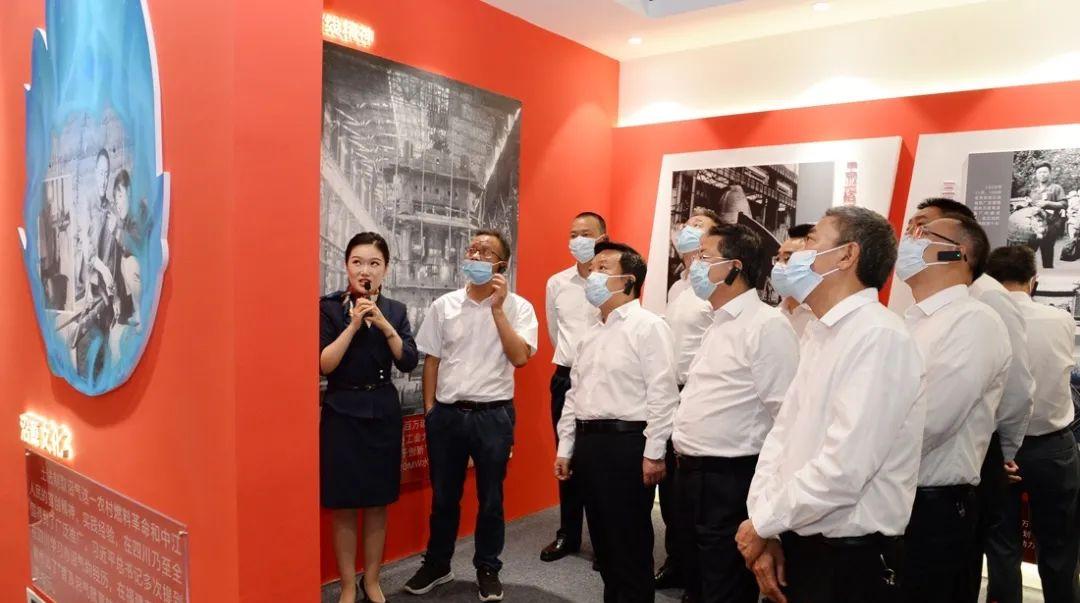 万搏买球市庆祝中国共产党成立100周年主题展览开展