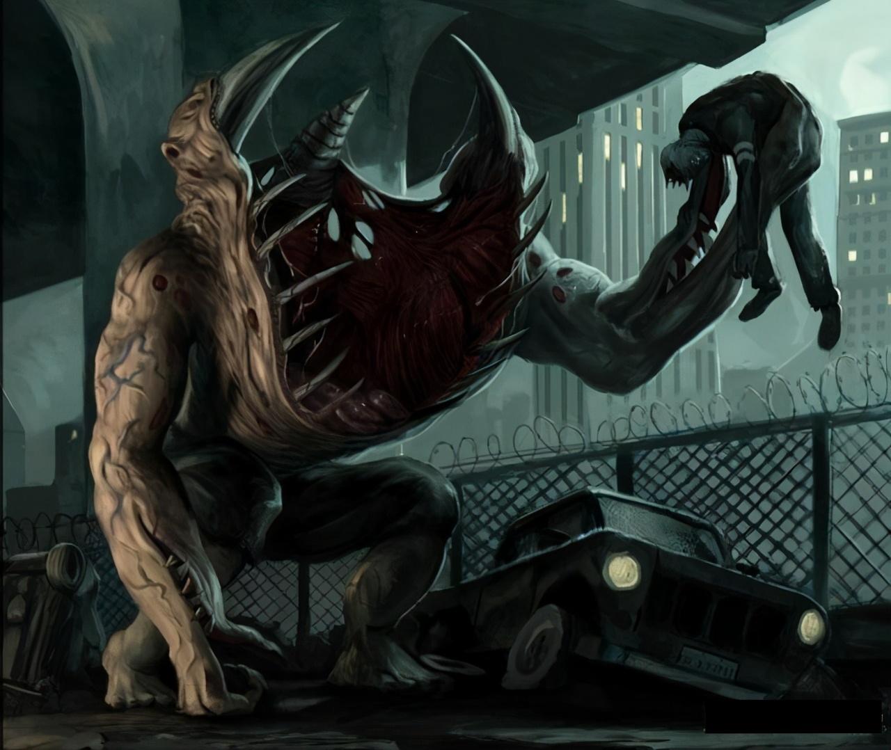 克苏鲁神话生物——古革巨人