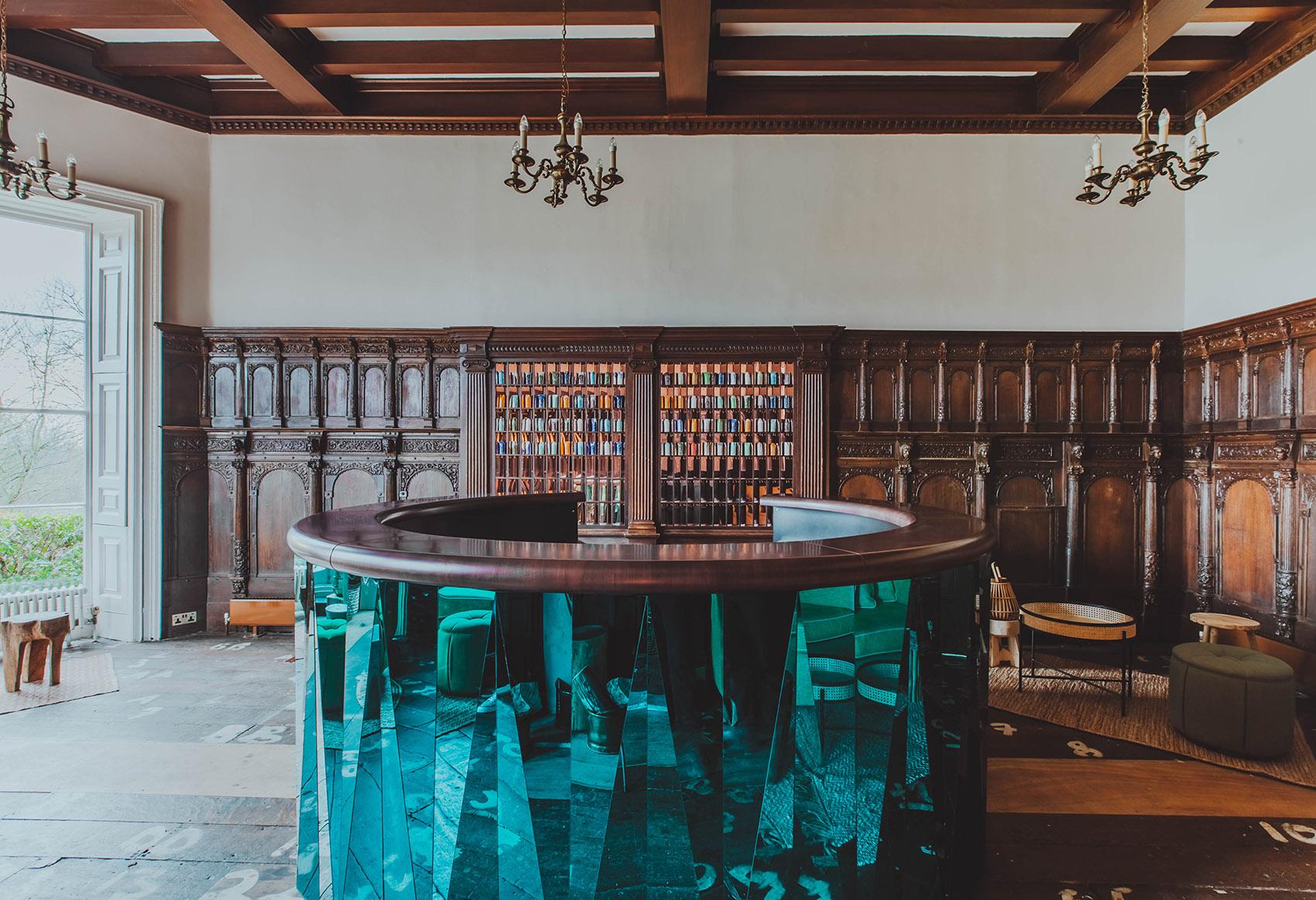 Birch酒店室内改造,伦敦  Red Deer