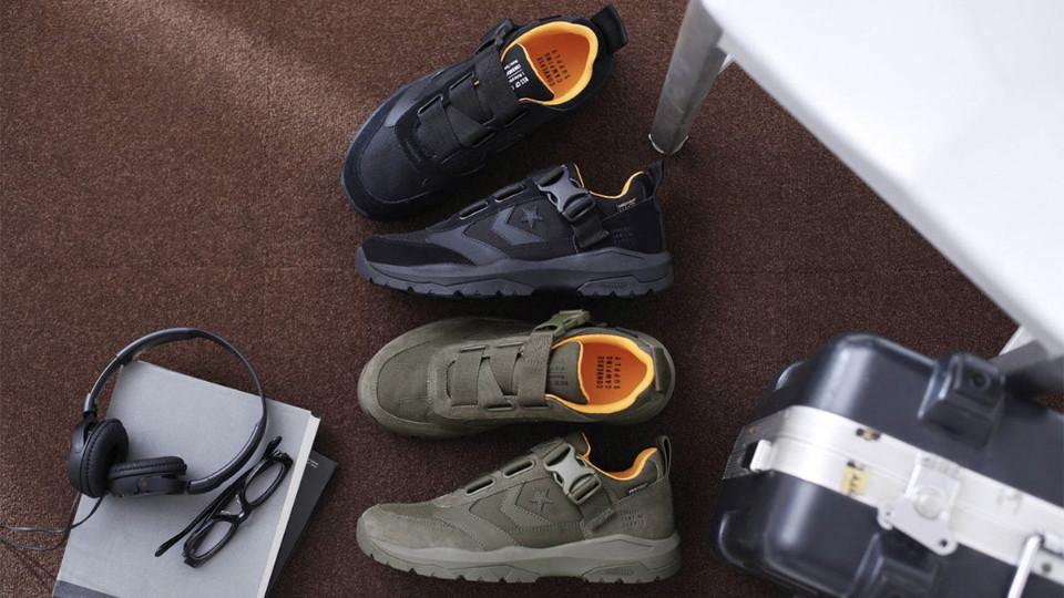 登山鞋推荐CONVERSE匡威户外鞋登场,机能、外型一次满足