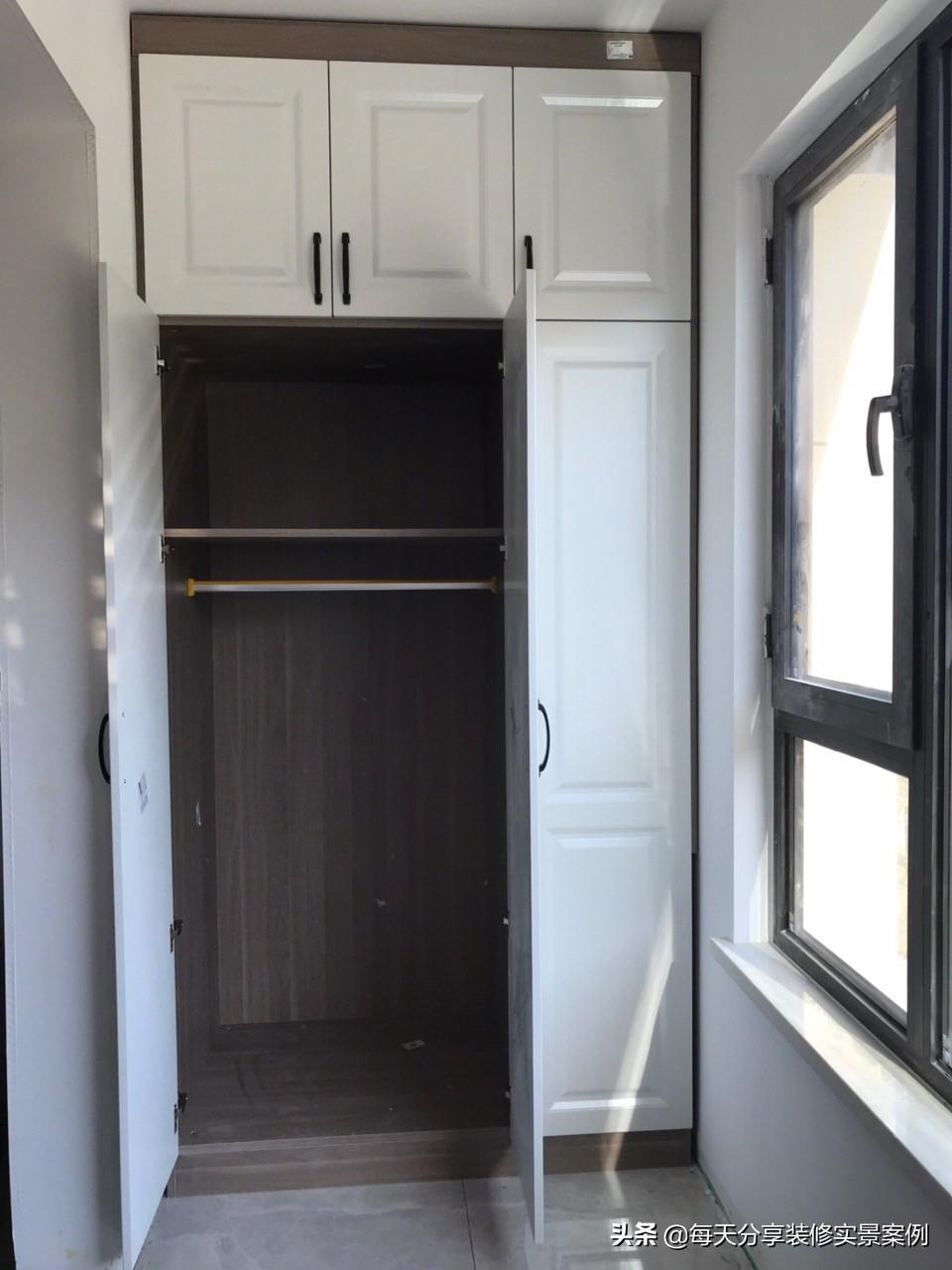 历时两个月硬装完工,全屋定制柜子花了3W太值得了,邻居都羡慕!