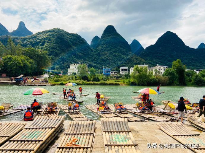 255元的桂林竹筏漂流貴嗎?船工說,只賺80,一天只能跑3趟