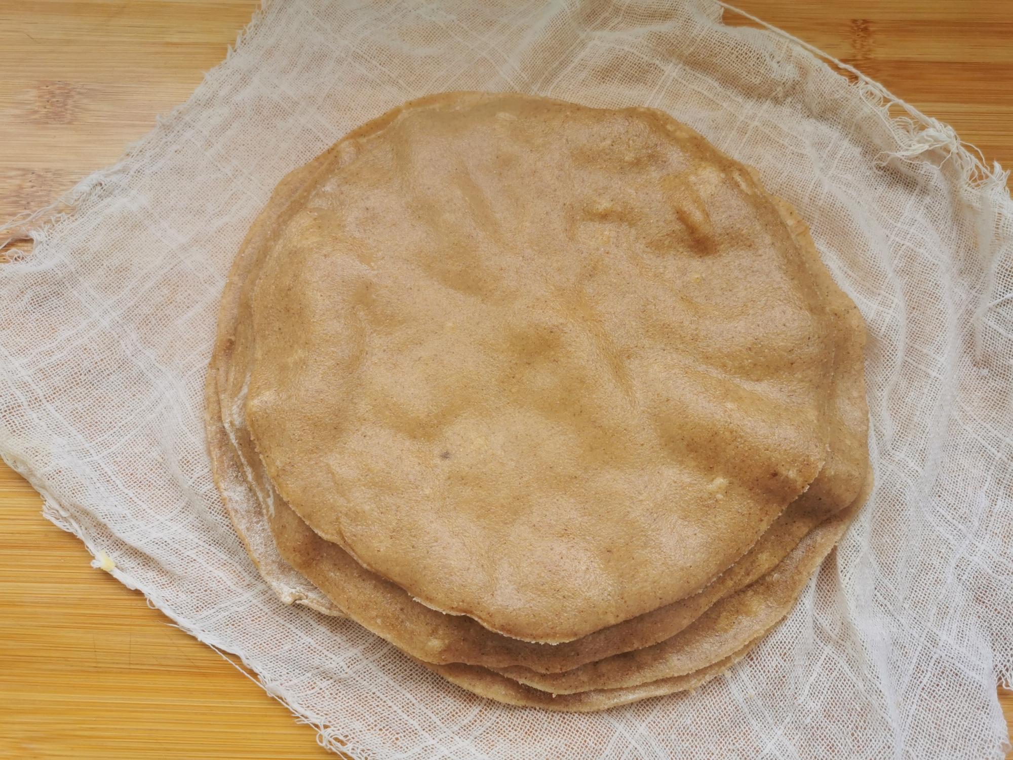 減脂瘦身的全麥餅不要買了,30分鐘做15張,一周的早餐有了