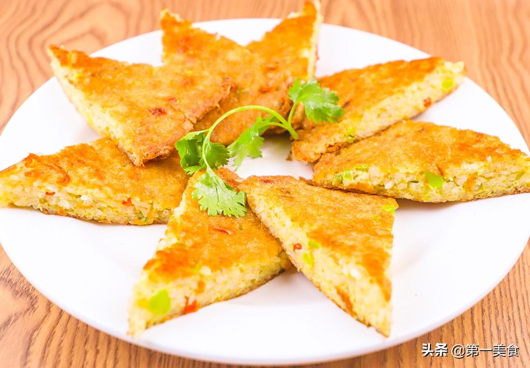 【糯米鸡蛋饼】做法步骤图 早餐再也不吃豆浆油条了 营养又美