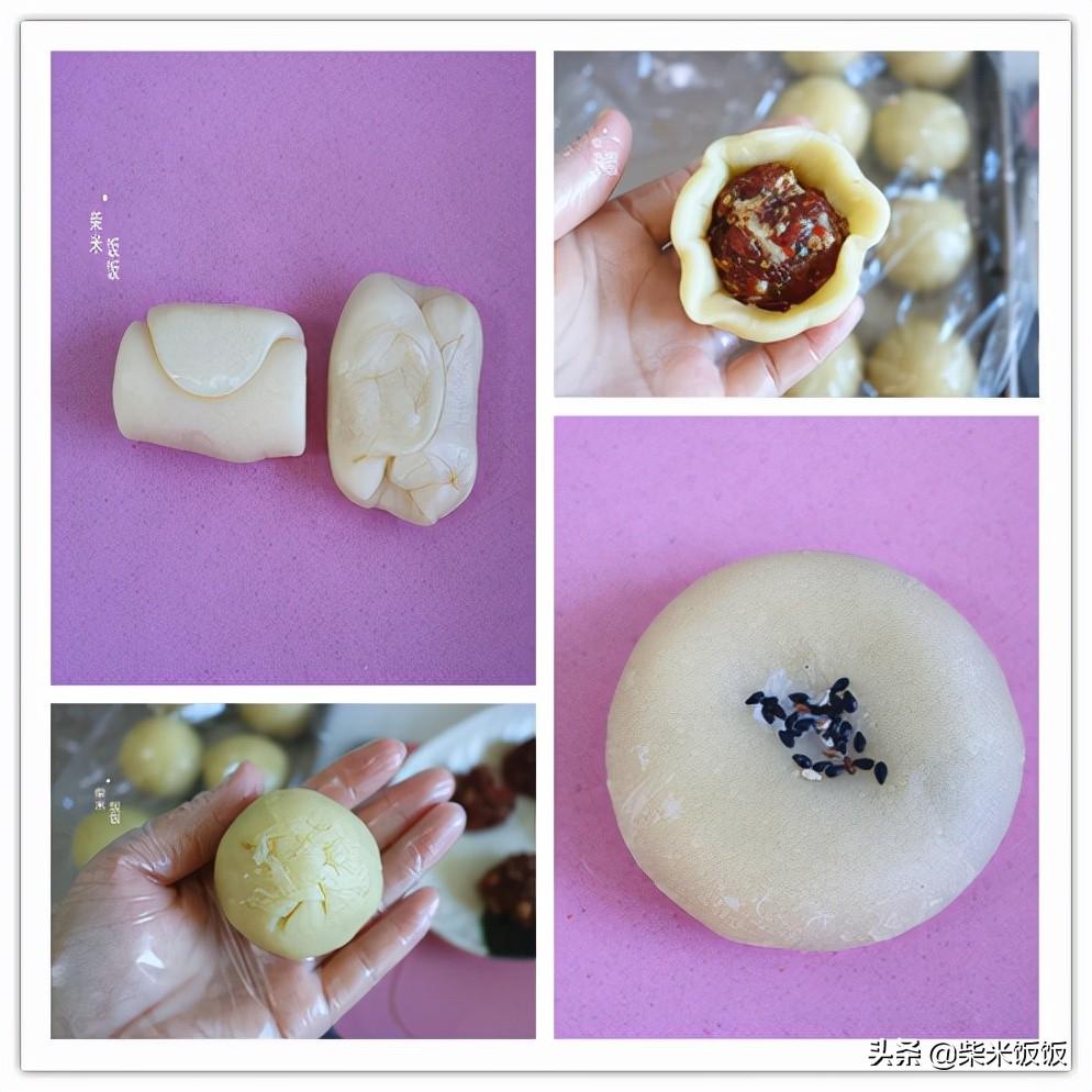 中秋节吃月饼,这个馅的太香了,香酥多层,咬一口还爆汁