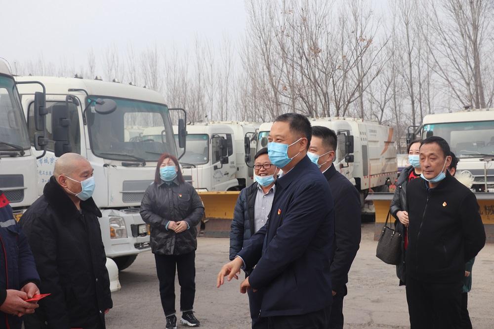 漯河城管局暖冬进行时 冬日温情抚人心