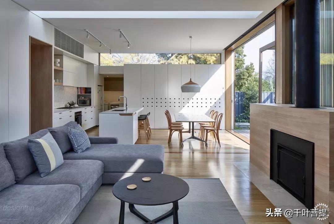 現代庭院住宅,一米陽光、一米原木