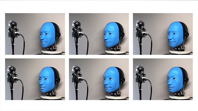 机器人会模仿人类微笑了,但我总觉得这笑容……