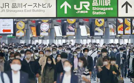 日本正式对一都三县发布紧急事态宣言 在日华侨华人调整生活方式
