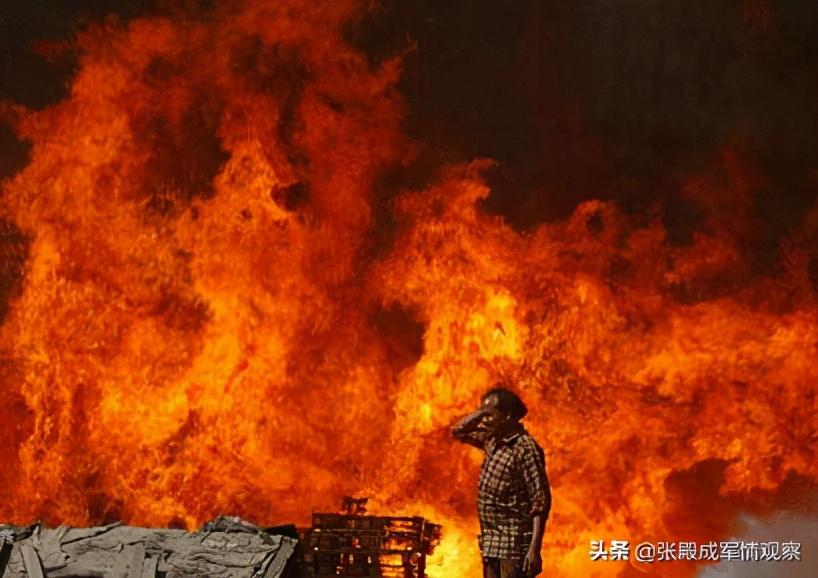 防寒服仓库燃起大火 连莫迪都惊动了 印军很快在边境发现密道