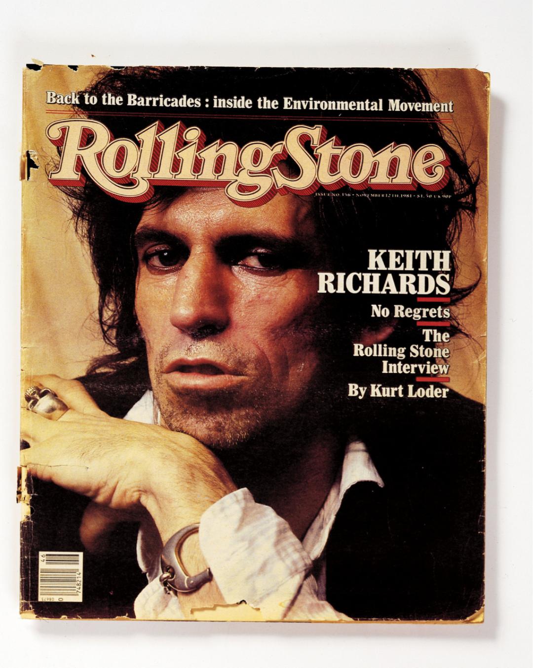 Keith Richards:用三千把吉他谱写六十年摇滚传奇