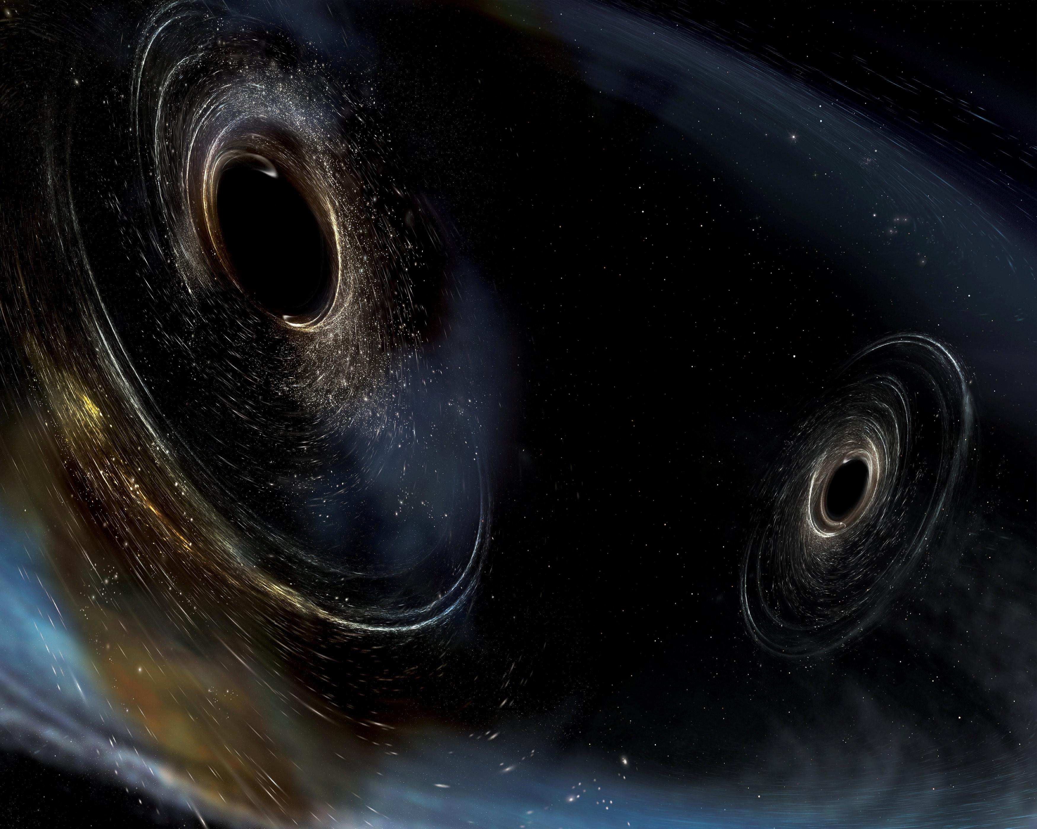 黑洞Vs虫洞,宇宙两大神秘天体如果相遇,会发生什么诡异的事