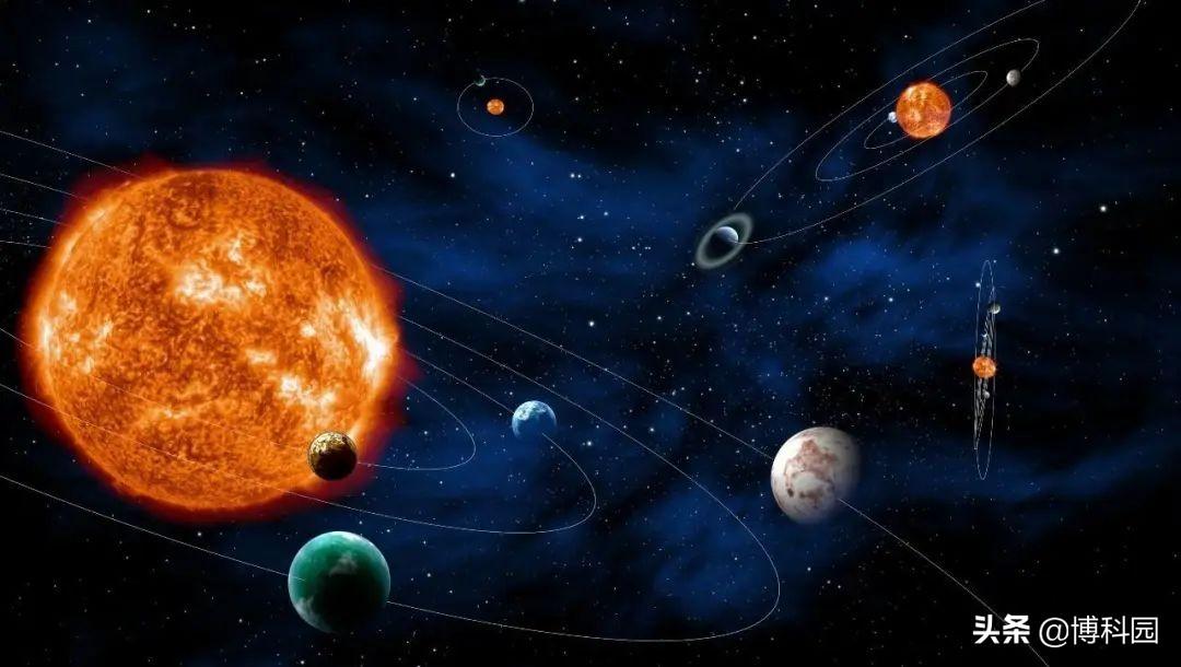 发现神奇的太阳系,不仅有四颗气体巨星,居然还有两个小行星带